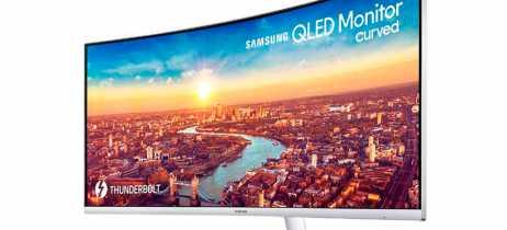 Samsung apresenta monitor curvo QLED CJ79 de 34 polegadas para clientes empresariais