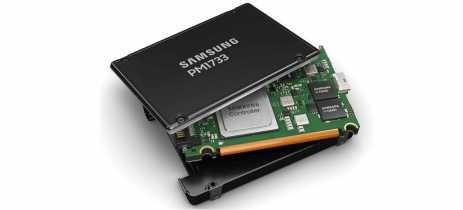 Samsung lança novos SSDs com tecnologia de desempenho que
