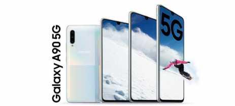 Samsung revela especificações do Galaxy A90 e reforça o foco no 5G