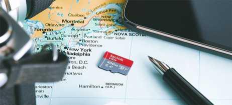 SanDisk anuncia cartão de memória microSDXC de 400GB