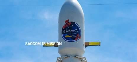 SpaceX lança satélite de observação como parte da missão SAOCOM 1B