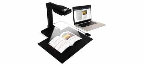 CZUR ET16 Plus é o scanner de livros que consegue digitalizar 100 páginas em 2 minutos