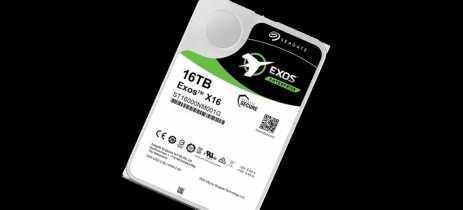 Seagate lança seus novos HDDs Exos X16,  IronWolf e IronWolf Pro de 16TB