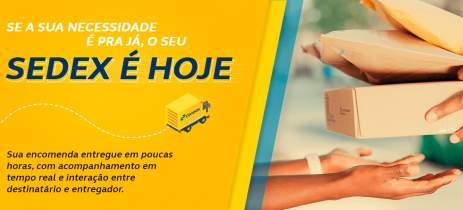 Correios lança Sedex Hoje com entrega no mesmo dia e rastreio em tempo real