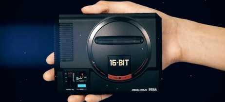 Versão miniatura do Mega Drive/Genesis chega em setembro com 40 jogos pré-instalados