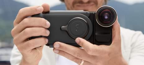 ShiftCam ProGrip busca transformar seu celular numa câmera profissional