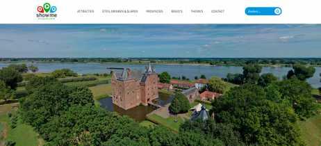 Projeto usa drones para capturar toda a Linha de Água Holandesa em 360º