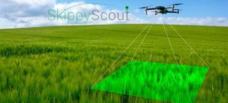 O app Skippy Scout permite monitoramento de lavouras usando IA