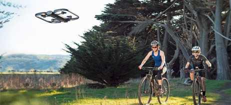 Veja como o drone Skydio R1 enxerga o mundo enquanto ele segue o usuário