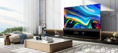 Hisense lança smart TV de 85 polegadas e tela dupla