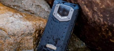 Smartphone robusto Oukitel WP15 5G possui uma bateria de 15.600 mAh
