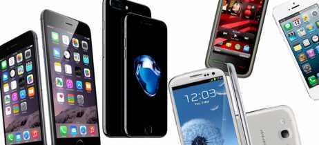 Site divulga lista com os 5 smartphones mais vendidos da história