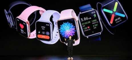 Oppo Watch é anunciado com tela AMOLED de 1.91