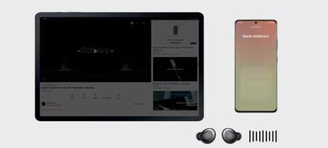 Galaxy Tab S7 e S7+ com One UI 3.1 tem melhor integração com notebooks e smartphones