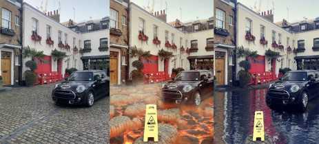Novos filtros de AR do Snapchat transformam o chão em lava