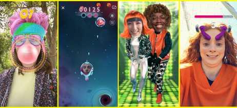 Snapchat apresenta Snappables, novas lentes interativas