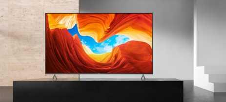 Sony revela os preços das TVs 4K e 8K da sua linha 2020
