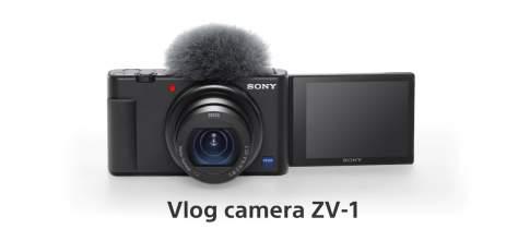 Sony lançará aplicativo para câmera ZV-1 poder ser usada como webcam