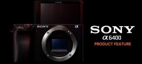 Sony apresenta a sua nova câmera alpha 6400 voltada para gravações de vídeos