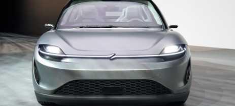Sony agora tem seu próprio carro elétrico, chamado Vision-S