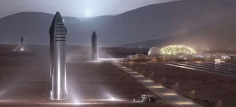 SpaceX planeja construir portos espaciais marítimos para missões em Marte