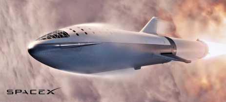 SpaceX planeja fazer o primeiro lançamento comercial do Starship em 2021
