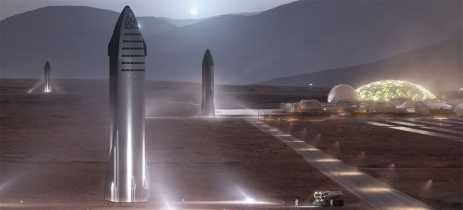 Elon Musk explica como pretende levar 1 milhão de pessoas para Marte até 2050