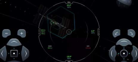 SpaceX lança o ISS Docking Simulator, seu simulador online