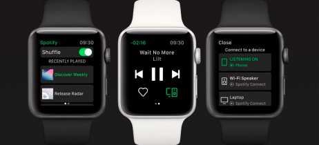 Spotify anunciou oficialmente seu aplicativo exclusivo para Apple Watch