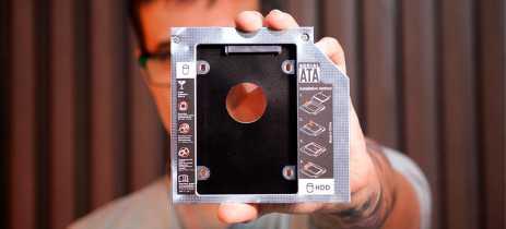 TUTORIAL: Use um adaptador para trocar seu drive de disco por um SSD no notebook!