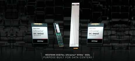 Western Digital lança duas novas linhas de SSDs UltraStar NVMe para data centers