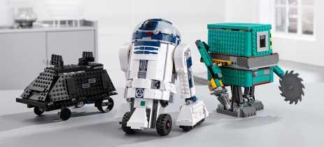 Lego Boost Droid Commander usa R2-D2 para ensinar programação para crianças