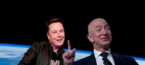 Elon Musk trava disputa com a Amazon para adicionar sistema de internet global