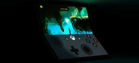 Renderizações mostram como seria o modo de games do Surface Phone [Rumor]