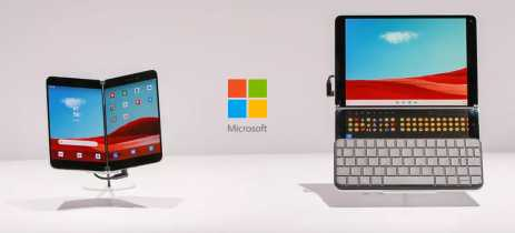 Microsoft apresenta Surface Neo e Surface Duo, laptop e smartphone Android com tela dupla