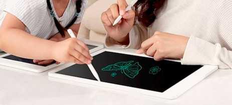 Xiaomi lança tablet de desenhos e anotações com bateria de 1 ano de duração