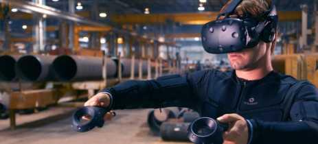 Teslasuit é o nome do traje VR que simula sensações táteis durante um jogo