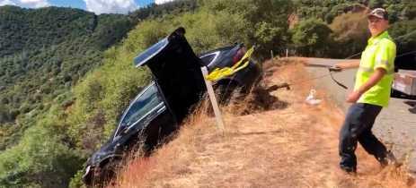 Veja como o Tesla Model X salvou a vida do motorista em acidente