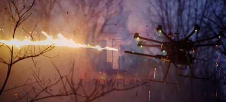 Throwflame apresenta o lança-chamas para drones TF-19 Wasp por US$1.500
