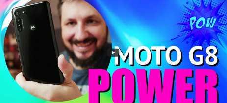 Motorola Moto G8 Power: unboxing e primeiras impressões