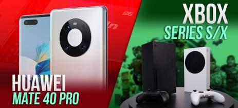 AO VIVO: Xbox Series X/S, Huawei Mate 40 e os principais assuntos da semana