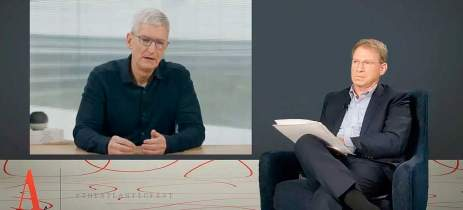 Tim Cook fala sobre como a Apple vê as investigações de monopólio