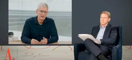 Tim Cook fala sobre como a Apple vê as investigações de monopólio