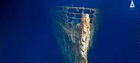 Primeiras imagens em alta resolução mostram como o Titanic está hoje