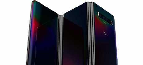 TCL apresenta protótipo de celular dobrável com TRÊS TELAS!