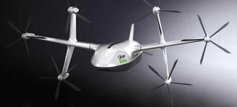 Uber Eats revela seu avançado drone de entrega com seis hélices