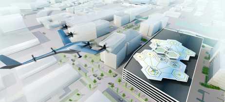Uber está construindo um centro de tecnologia para táxis voadores