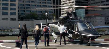 Helicópteros da Uber começam a operar nos EUA por valores a partir de US$200 a viagem