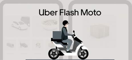 Serviço de entrega Uber Flash Moto chega em Florianópolis e a outras cidades do país
