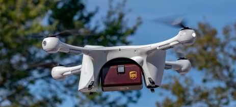 UPS anuncia parceria com a CVS para entrega de medicamentos com drones